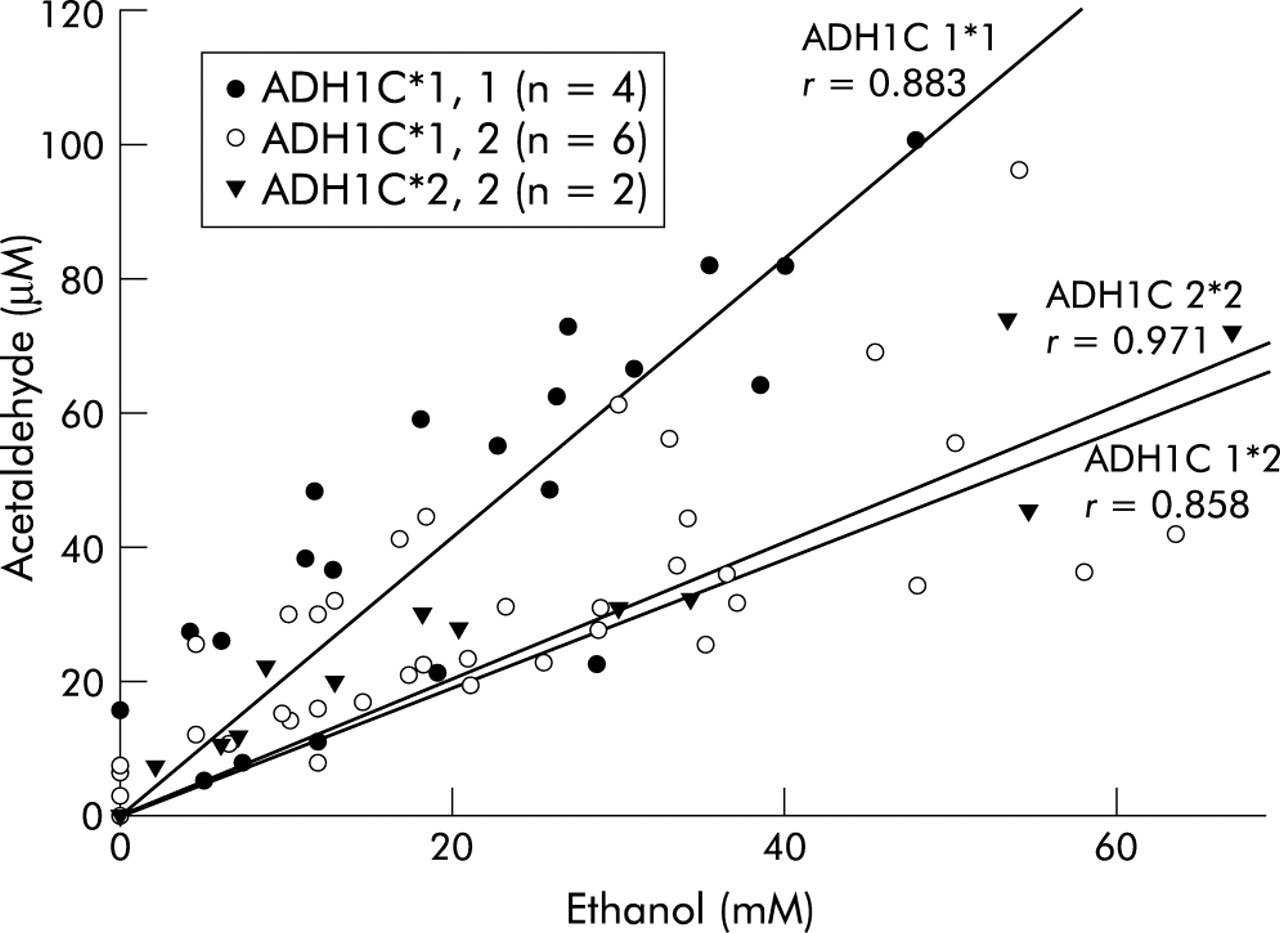 an analysis of impaired acetaldehyde dehydrogenase and cancer risk Cause impaired ethanol metabolism13 and cytoprotection6,14 about different background and purpose—the 2 allele of the aldehyde dehydrogenase 2 gene (aldh2) is the most common variant in logistic regression analysis revealed that the aldh22/2 genotype was an independent risk factor for ischemic stroke.