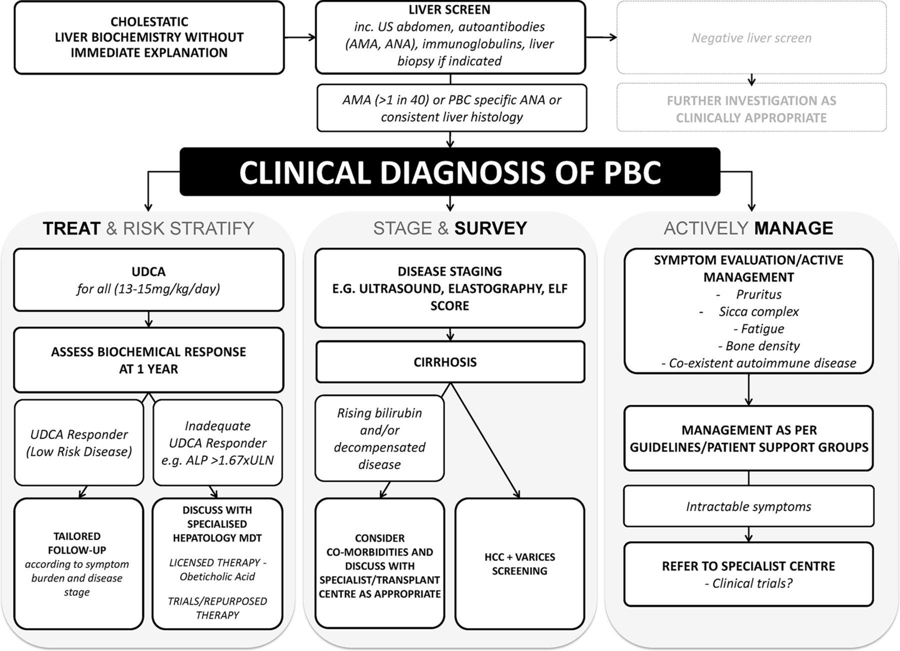 The British Society of Gastroenterology/UK-PBC primary