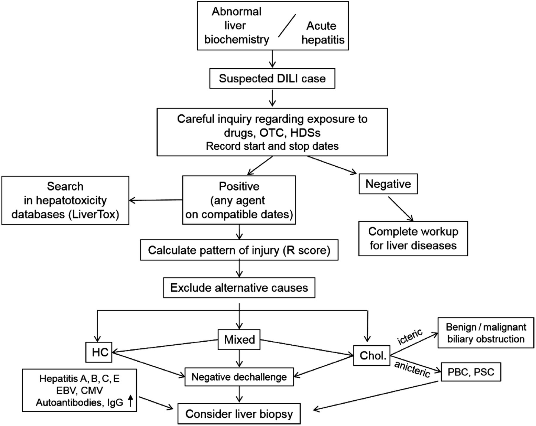 drug induced liver injury and its relationship to autoimmune hepatitis