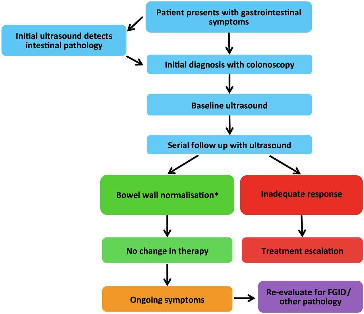Gastrointestinal ultrasound in inflammatory bowel disease: an